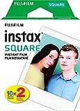 Fujifilm Fujifilm Instax Square Twin Pack Film - 20 Exposures Tapones para los oídos 5 Centimeters Negro (Black)
