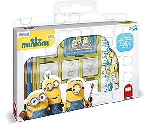 MULTIPRINT Minions - Juegos de Sellos para niños, Caucho, Madera, 3 año(s), Italia, 330 mm, 40 mm