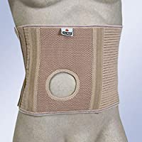 Faja abdominal para ostomizados con orificio Orliman COL-249