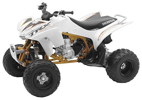 New Ray 2009 Honda TRX-450R 57093B Blanc, 1:12 Die Cast