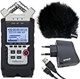ZOOM H4n PRO Handy Recorder + KEEPDRUM Zubehör-Set