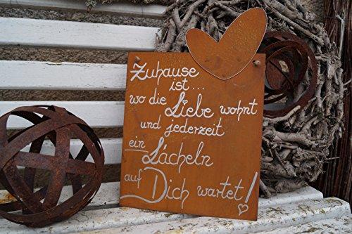tafel-mit-herz-zuhause-ist-edelrost-gedichttafel-schild-spruch-metall-2