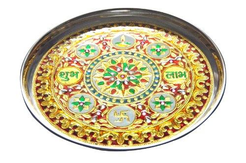 artistic-diwali-pooja-thali-with-decorative-stone-studded-meenakari-work-large-artistically-packed-i