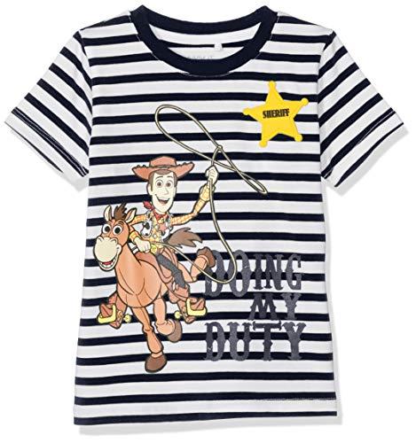 NAME IT Baby-Jungen NMMTOYSTORY BRAX SS TOP WDI T-Shirt, Blau (Dark Sapphire), (Herstellergröße: 92)