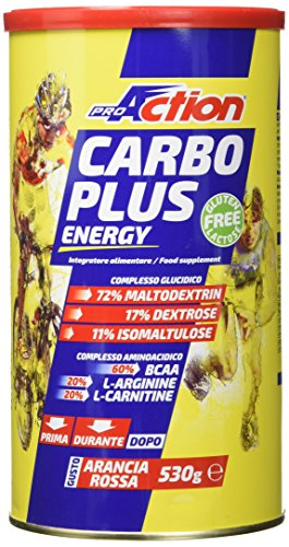 Proaction carbo plus energy formula, latta da 530 g