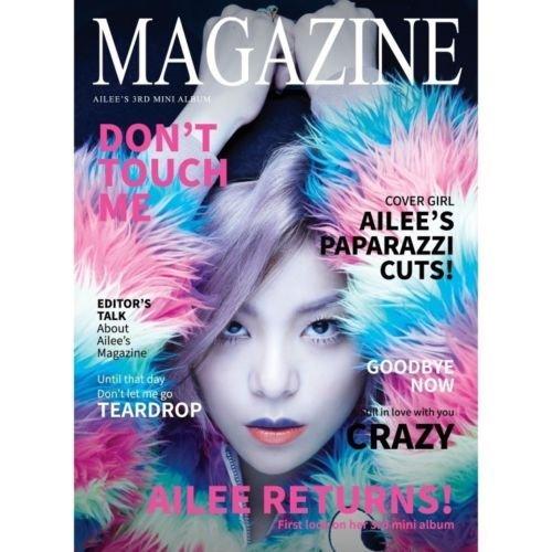 AILEE - [MAGAZINE] 3rd Mini Album CD+Photo Book Sealed (Magazin Mini)