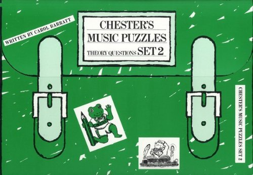 Chester's Music Puzzles: Set 2 by Carol Bennett (2000-01-01)