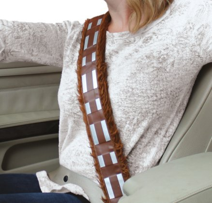 Preisvergleich Produktbild Star Wars - Safety Belt Covering Star Wars, Chewbacca, Brown/White/Black - White (1 Accessories)