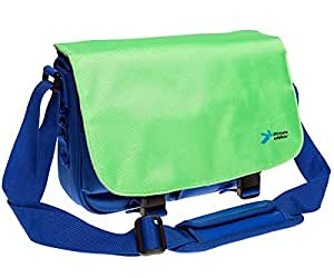 Ultimate Addons Kids Green and Blue Messenger Bag Carry Case for vTech InnoTab Tablet 1 and 2