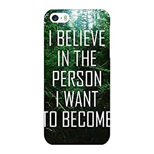 Printman Motivational Quote Wanderlust Back Cover For Apple iPhone 5c - P33302