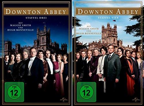 Downton Abbey - Die komplette 3. + 4. Staffel [8-DVD]