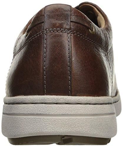 Dansko Mens Vaughn Fashion Sneaker Brown Tumbled Pull Up