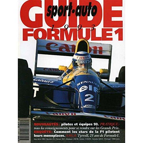 GUIDE FORMULE 1 SPORT AUTO
