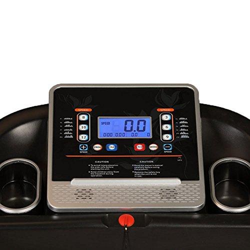 Elektrisches Laufband mit LCD-Display & MP3 Bild 5*