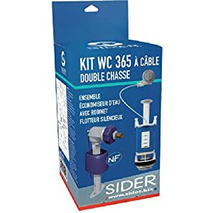 KIT WC 3/6L A CABLE - SIDER