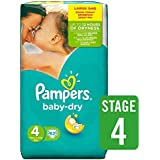 Pampers Baby Dry Paquet de 62 couches Taille 4