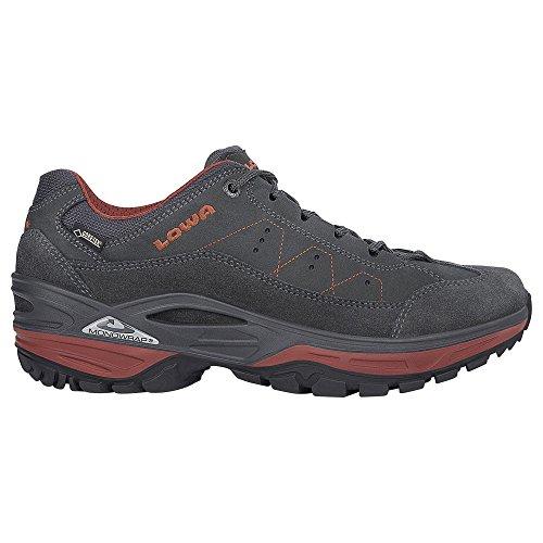 Lowa  310877-9775, Chaussures de randonnée basses pour femme anthrazit/rost