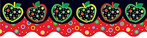 Creative Teaching Press Apples and Dots Perfect Pairs Border Set
