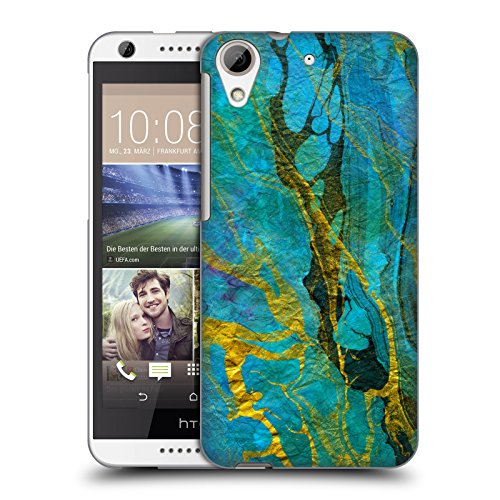 official-haroulita-yellow-teal-marble-hard-back-case-for-htc-desire-626