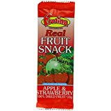 Frutina Real Fruit Refill Apple and Strawberry Bars 15 g (Pack of 24)