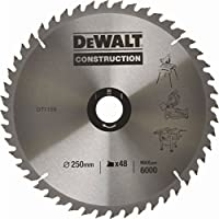 DeWalt DT1182 Mitre Saw Table Blade 254 x 30mm x 60 Teeth Construction