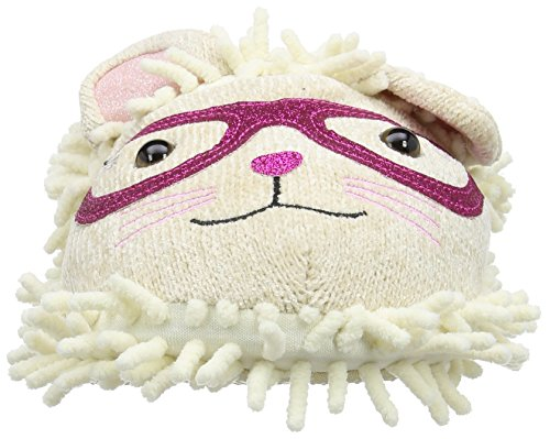 Aroma Home Shoes Unisex-Erwachsene Fuzzy Friend Cat with Glasses Hausschuhe Mehrfarbig - Multicolore (Multicolor)
