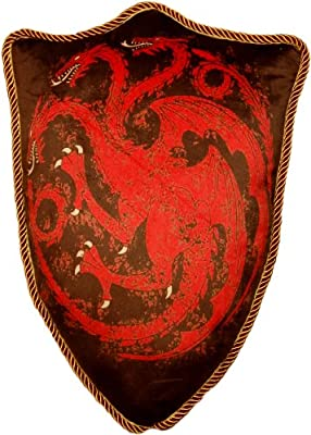 House Targaryen Sigil Throw Pillow