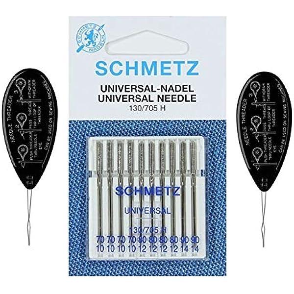 Schmetz Universal 80//12 sewing machine needles pkt of 5