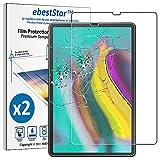 ebestStar - Compatibile x2 Vetro Temperato Samsung Galaxy Tab S5e 10.5 T720/T725 Protezione Schermo Pacco da 2 Pellicole Anti Shock, Anti Rottura, Anti graffio [Apparecchio: 245 x 160 x 5.5mm, 10.5']