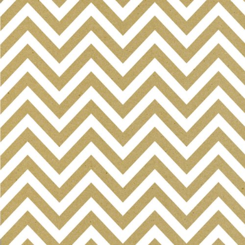 printed-single-sided-cardstock-12x12-white-kraft-chevron-15-per-pack-by-canvas