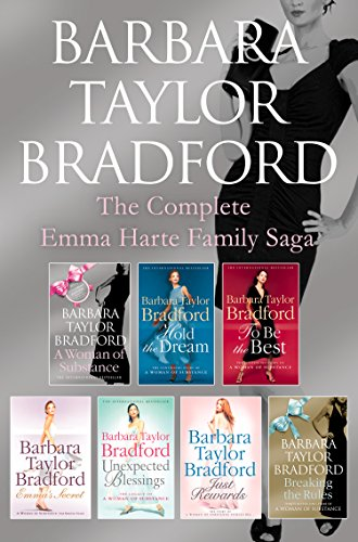 The Emma Harte 7-Book Collection: A Woman of Substance, Hold the Dream, To Be the Best, Emma's Secret, Unexpected Blessings, Just Rewards, Breaking the Rules (English Edition) (Barbara Taylor Bradford Harte)