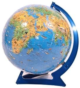 Ravensburger Childrens World Map Puzzleball (180 Pieces)