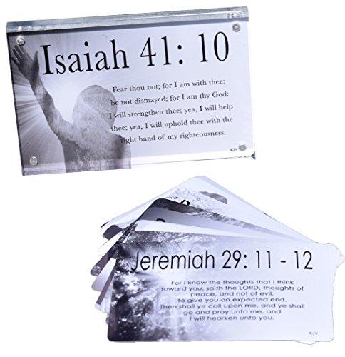 liebtes Scripture ER Karten (10) KJV + Acryl Display Rahmen ()