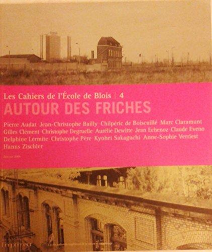 Les cahiers de l'Ecole de Blois, N° 4 : Autour des friches