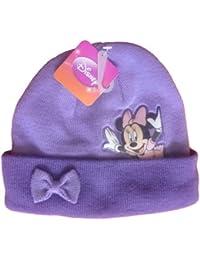 Bonnet Pourpre Minnie Mouse Disney avec l'image PVC - Marchandise certifiée Disney