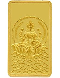 TBZ - The Original 2 gm, 24k(999) Yellow Gold Laxmi Precious Coin