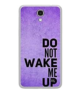 Fuson Designer Back Case Cover for Samsung Galaxy Mega 2 SM-G750H (Text Warning Do Not Disturb Boy Girl)