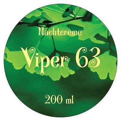 Viper 63 Nachtcreme, Hyaluroncreme Gingko + Retinol u. Hyaluronsäure,Sommerschlussverkauf von Schutzengelein bei Du und dein Garten