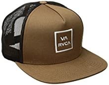 official photos 822e7 1ed8e RVCA Men s Va All the Way Trucker Hat, Tobacco, One Size