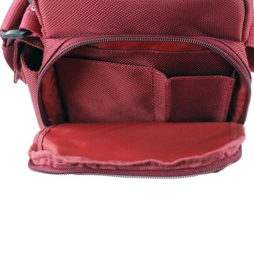 Picard Damen Hitec Umhängetaschen, 15x21x8 cm Rot