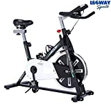 #8: Leeway Spin Bike NB-S2| Spine Fitness Equipment| Exercise Cycle For Indoor Home Gym| Exercise Bike| Gym Bike| Trainer Fitness Spine Exercise Equipment| Commercial Gym Bike (Imported)
