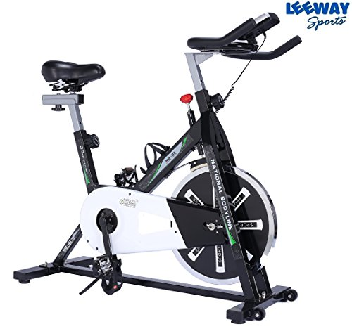 Leeway Spin Bike NB-S2| Spine Fitness Equipment| Exercise Cycle For Indoor Home Gym| Exercise Bike| Gym Bike| Trainer Fitness Spine Exercise Equipment| Commercial Gym Bike (Imported)
