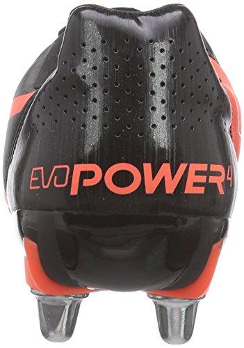 Puma - Evopower 4.2 Rugby H8, Scarpe Rugby da uomo Nero (Schwarz (black-white-lava blast 01))