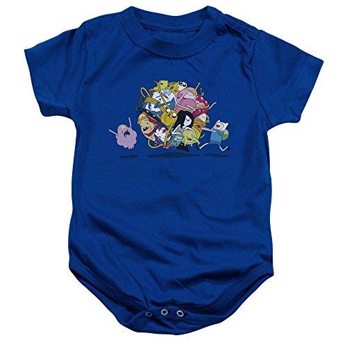 Adventure Time - - Kleinkind Glob Ball Strampelanzug, 6 Months, Royal Blue