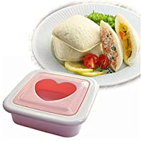 Shopo's Sandwich Mold Love Heart Shaped Bread Toast Making Mold Mould Toast Cutter Sandwiches Maker Tool