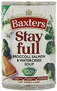 Baxters Broccoli, Salmon and Watercress Soup 400 g (Pack of 6)