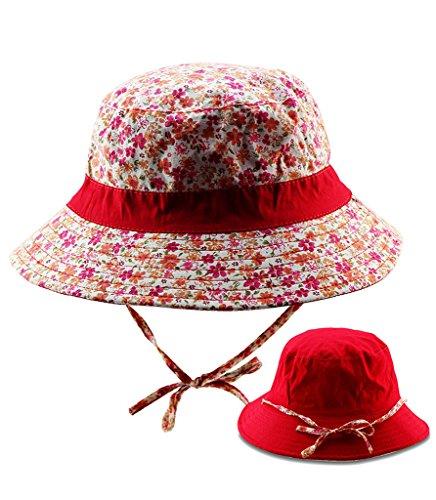 Sumolux Chapeau Pare-Soleil Chapeau de Pêche Chapeau de Soleil Masque Pare-Soleil 391°Antisolaire Masque Anti-UV Rouge