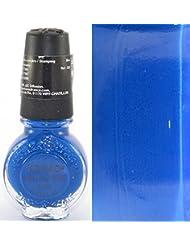 Vernis BLEU ROI stamping nail art Konad - 11ml