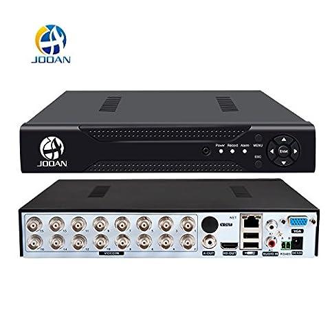 JOOAN 16CH CCTV-DVR 960H H.264 Digital Video Recorder P2P Wolke Videorekorder (Erweiterte Sicherheitssystem)