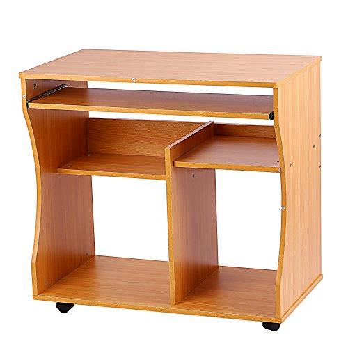 Computer Tisch Schreibtisch, ZJchao Chic Space Saver PC Desktop Arbeitstisch Workstation Home Office Arbeit Station Studie Möbel -